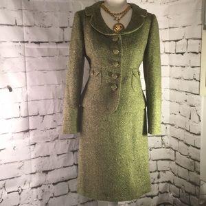 Vintage Green Suit - Ann Taylor aloft